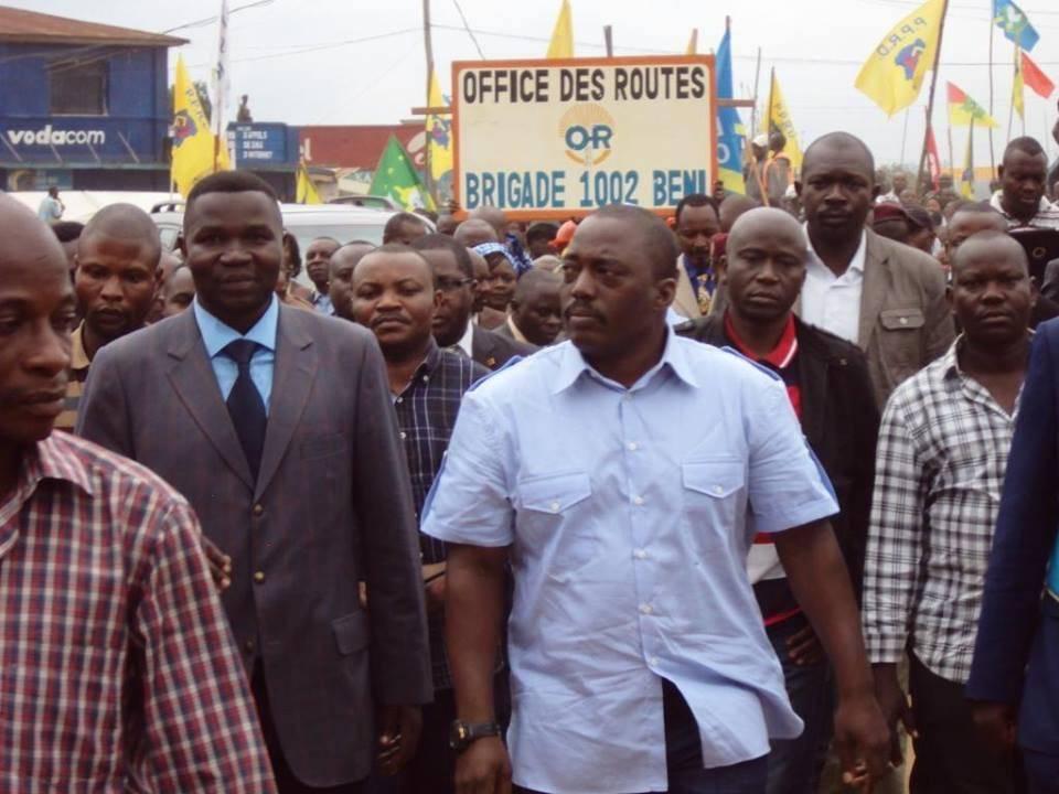 Le Président Kabila à Béni - Photo : Oeild'Afrique