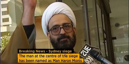 Man Haron Monis, auteur de la prise d'otage de Syndney - Photo : Reuters TV