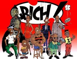 Les personnages de Gbich, le journal satirique ivoirien