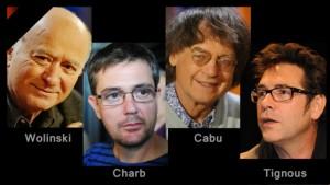 Les 4 caricaturistes assassinés