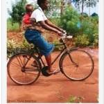 Togolaise à vélo