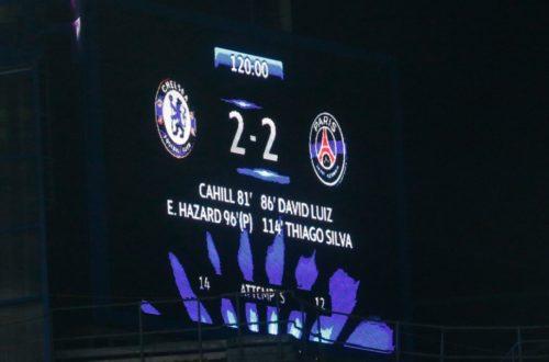 Article : Football – LDC 2015 : Pari(s) réussi(t) face à Chelsea
