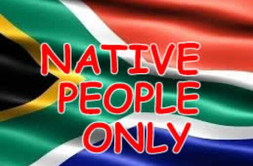 Article : Afrique du Sud : un nouvel apartheid des noirs, par les noirs pour les noirs