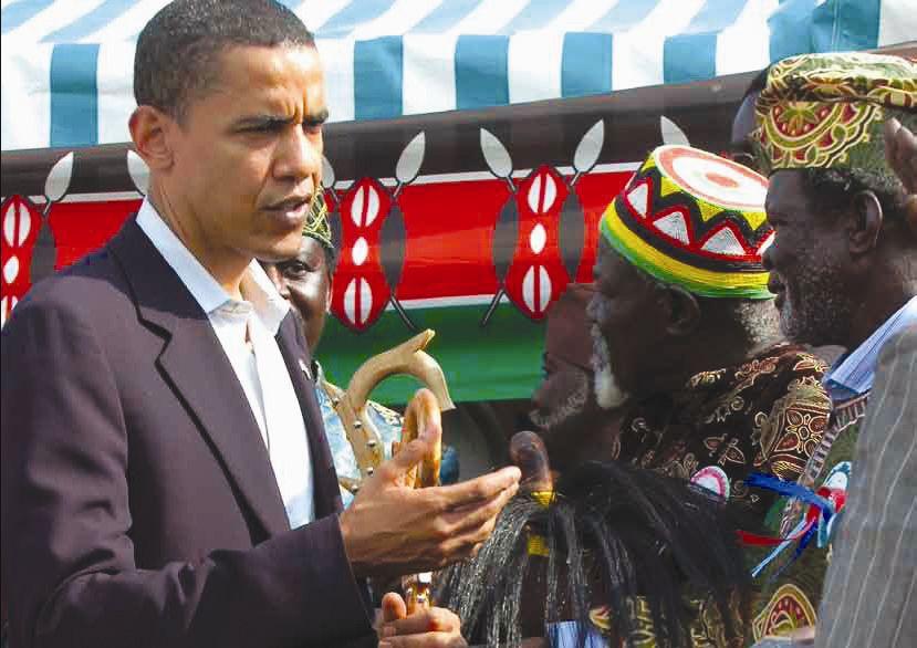 Obama au Kenya - http://www.samrack.com