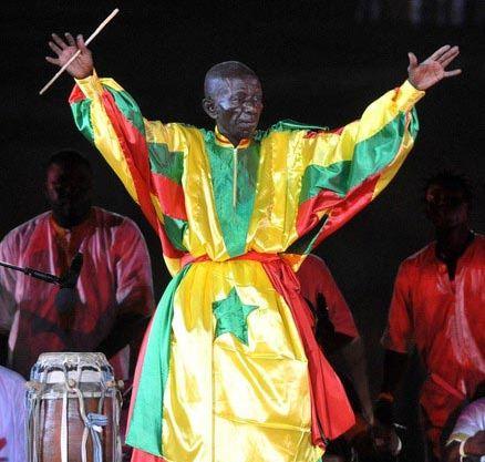 Doudou Ndiaye Rose au Fesman en 2014