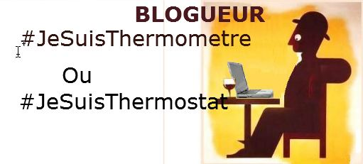 Blogueur : thermomètre ou thermostat ?
