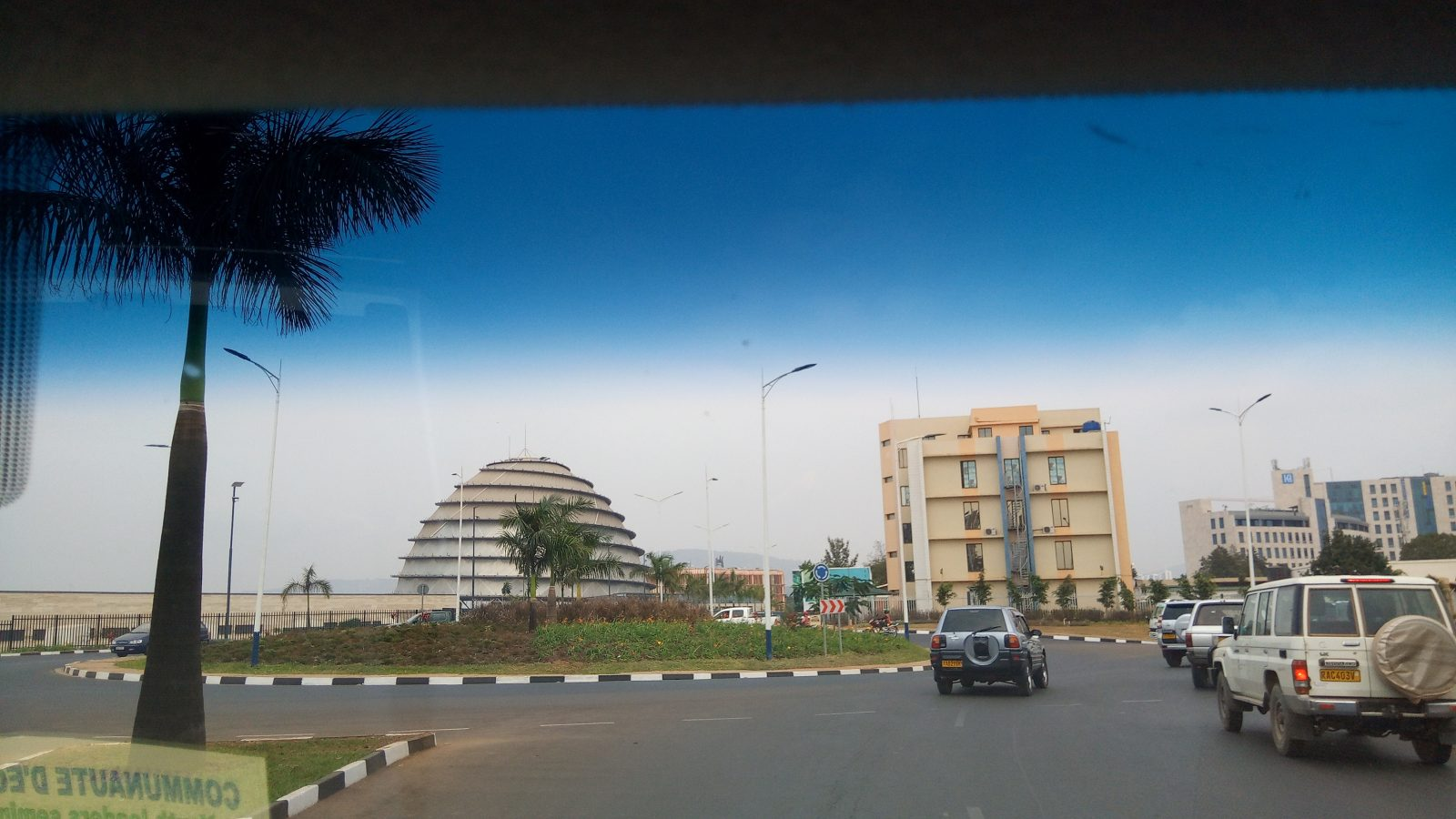 Le centre de conférence de Kigali - Photo : Roger Mawulolo