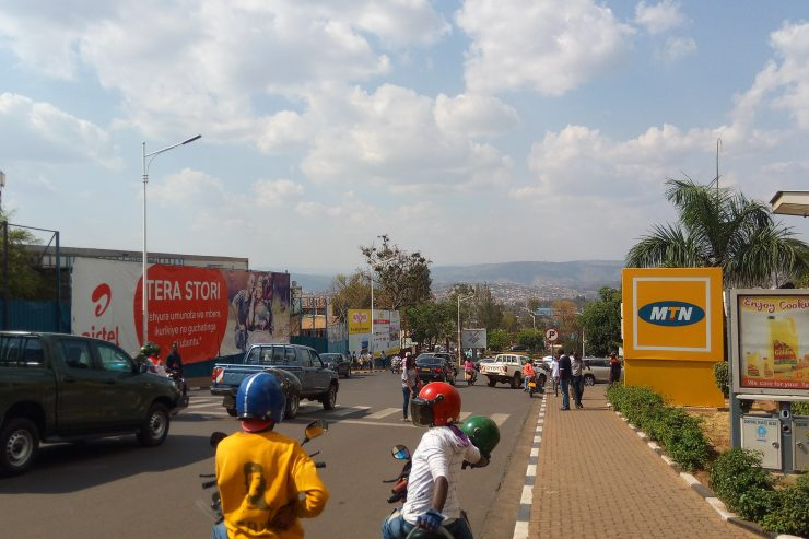 Scène de circulation à Kigali - Photo : Roger LASMOTHEY
