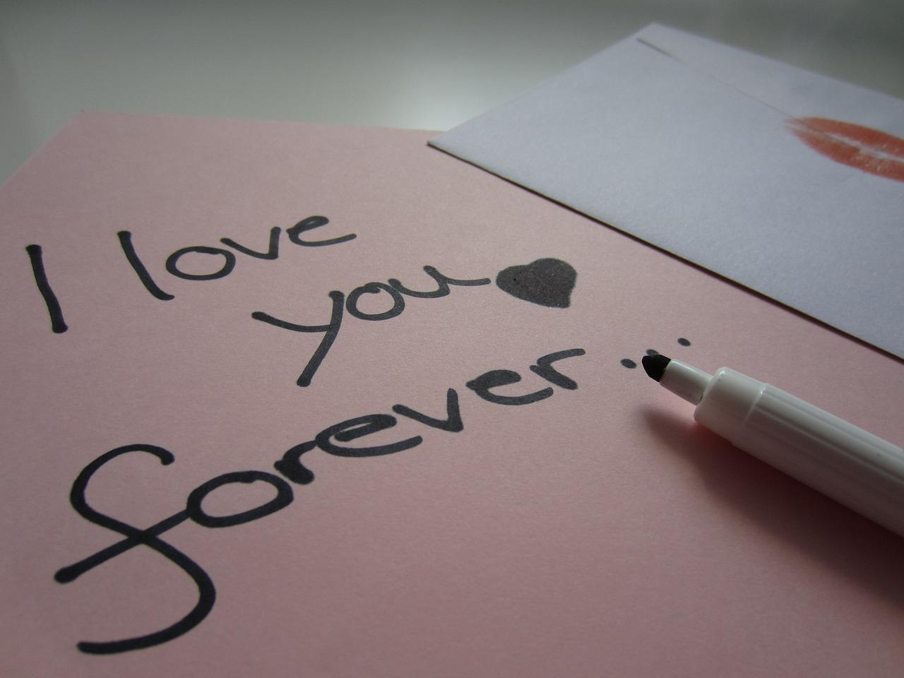 Lettre d'amour - Image libre : www.pixabay.com