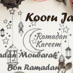 Composition d'éléments de publicité pour le Ramadan - Réalisée par Roger Mawulolo sur la base d'une image libre de freepick.com