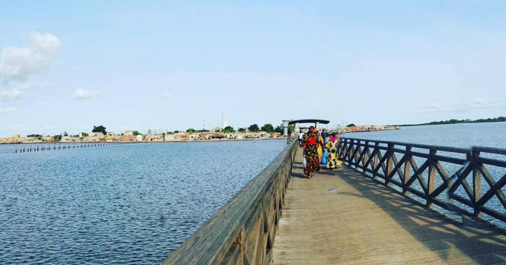Pont de Fadiouth - Crédit photo : Morceau2vie (avec l'aimable autorisation de Samantha Tracy)
