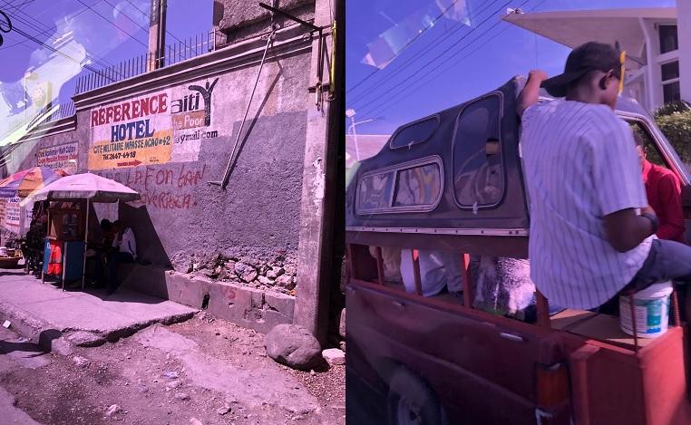Scènes de rue à Port-au-Prince (Haïti) - Photos : Roger Mawulolo