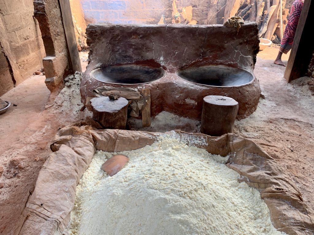 Fabrication du gari